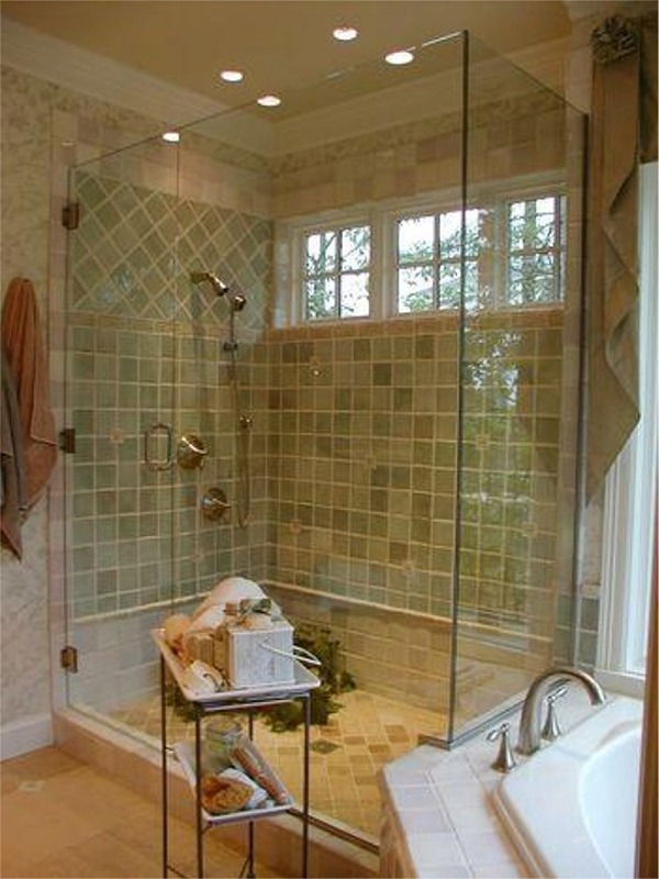 High Ceilings And Frameless Shower Kitchens Amp Baths