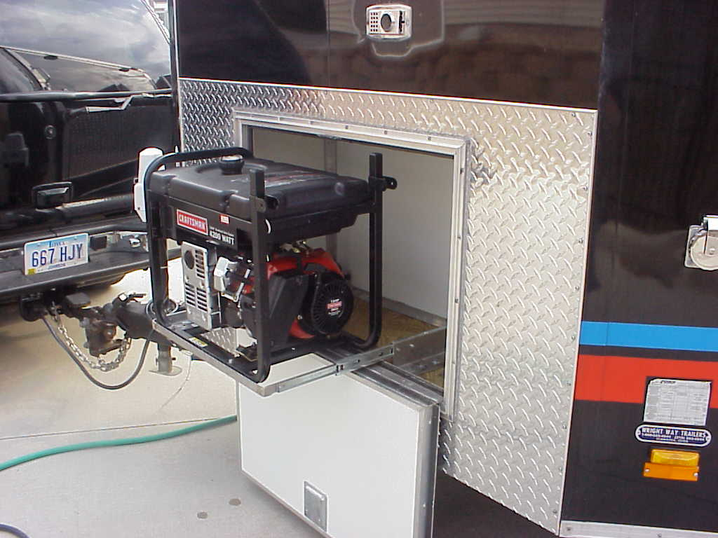 Amazing RVNet Open Roads Forum Travel Trailers Generator Mount