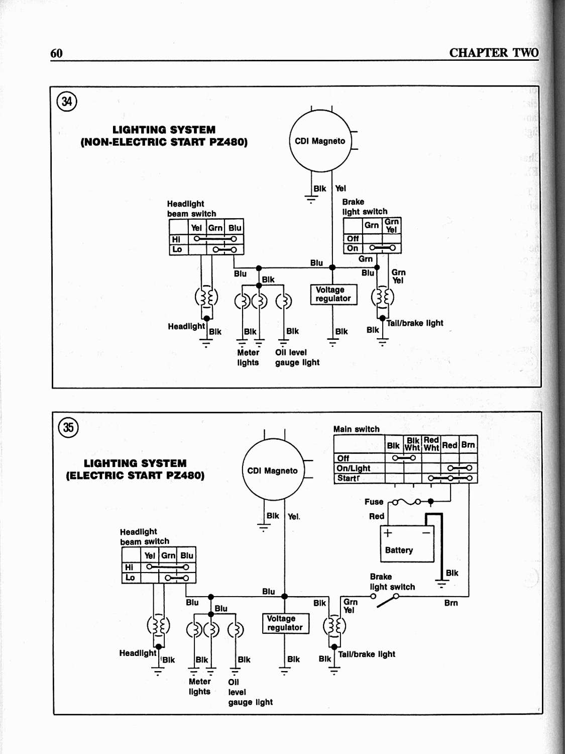 Yamaha Phazer Wiring Diagram Detailed Schematic Diagrams Schematics