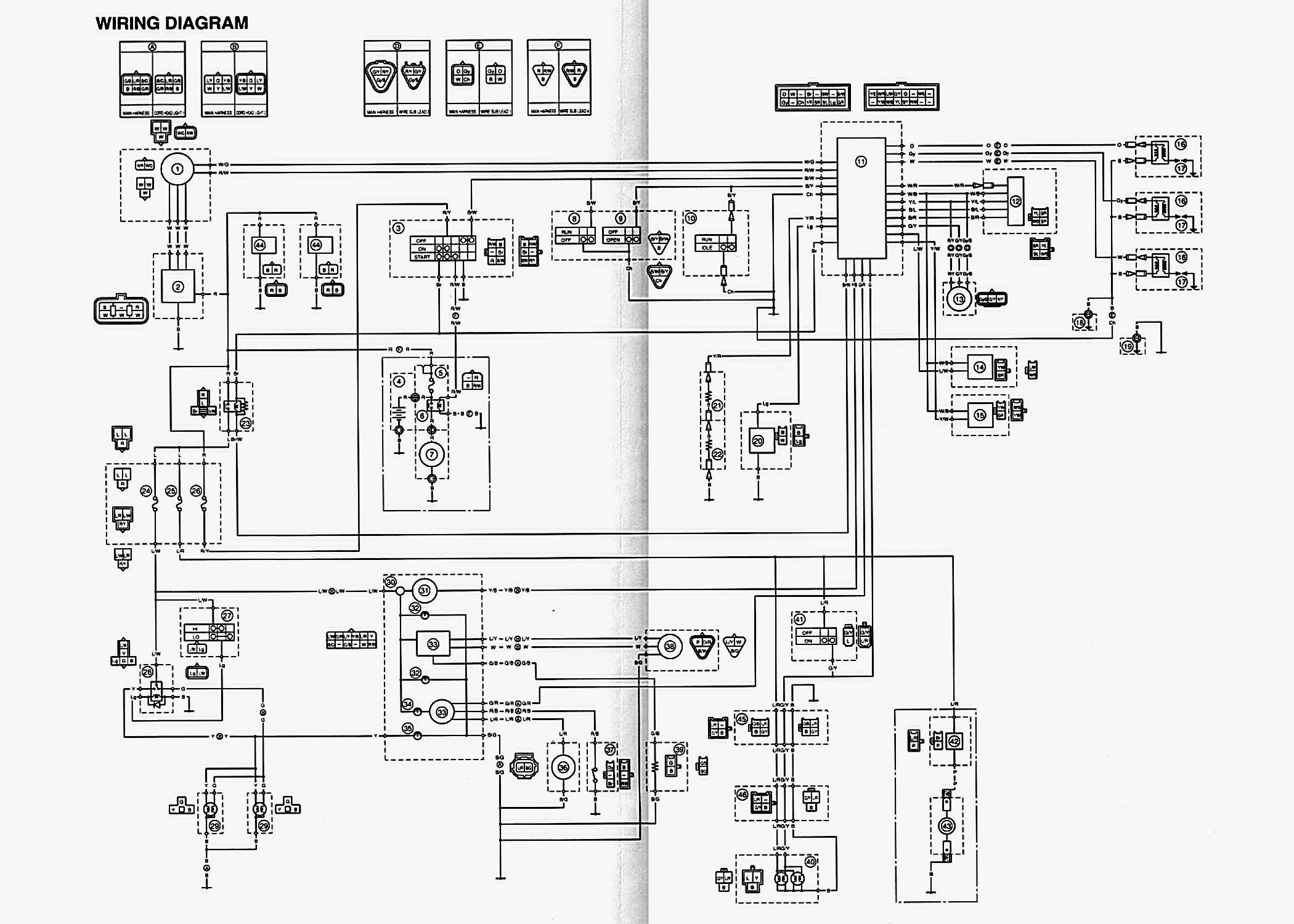 yamaha viper 700 wiring diagram  u2022 wiring diagram for free